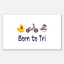 Born to Tri Decal