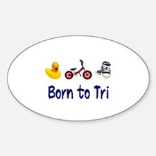 Born to Tri Decal