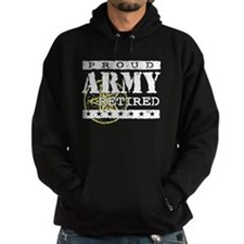 Proud Army Retired Hoodie