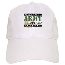 Proud Army Retired Baseball Cap