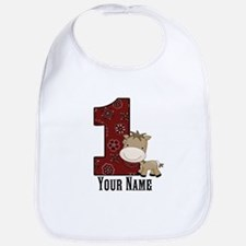 First Birthday Horse Bib