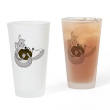 The Silver Fox Drinking Glass