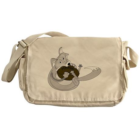 The Silver Fox Messenger Bag