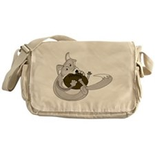 The Silver Fox Messenger Bag