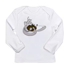 The Silver Fox Long Sleeve Infant T-Shirt