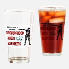 SHOOT FIRST Drinking Glass