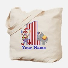 First Birthday Circus Tote Bag