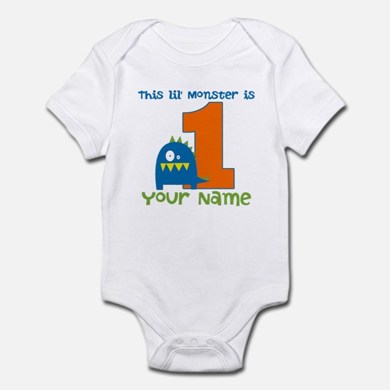 First Birthday Monster Infant Bodysuit