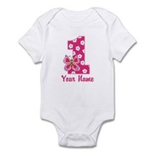 First Birthday Butterfly Infant Bodysuit