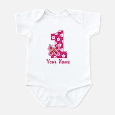First Birthday Butterfly Infant Bodysuit