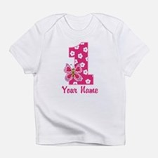 First Birthday Butterfly Infant T-Shirt