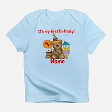 First Birthday Bear Infant T-Shirt
