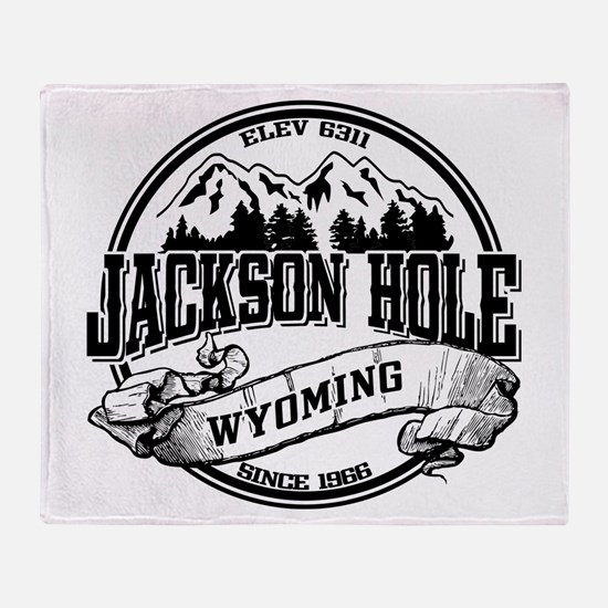 Jackson Hole Old Circle 2 Throw Blanket