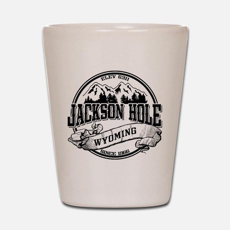 Jackson Hole Old Circle 2 Shot Glass