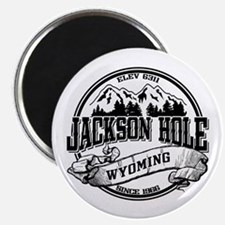 Jackson Hole Old Circle 2 Magnet