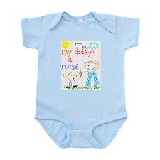 My Daddy's a Nurse Infant Creeper