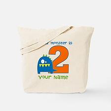 2nd Birthday Monster Tote Bag
