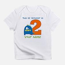 2nd Birthday Monster Infant T-Shirt