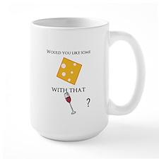 cheese and wine Mug