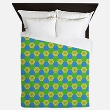 "SPRING ""Elder Sign"" Queen Duvet"