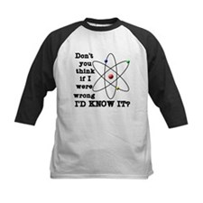 dont_you_think_black_letters Baseball Jersey