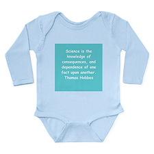 thomas hobbes Long Sleeve Infant Bodysuit