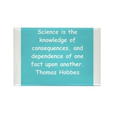 thomas hobbes Rectangle Magnet