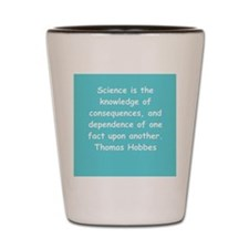 thomas hobbes Shot Glass