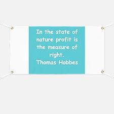 thomas hobbes Banner