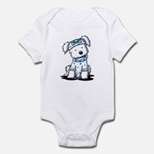 Cutie Face Maltese Infant Bodysuit