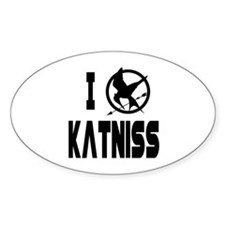 Hunger Games I Love Katniss Decal