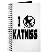 Hunger Games I Love Katniss Journal