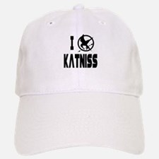 Hunger Games I Love Katniss Baseball Baseball Cap