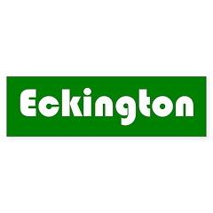 Eckington Bumper Sticker
