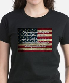 Unique Pledge allegiance Tee