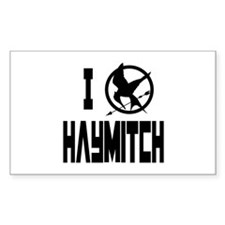 I Love Haymitch Hunger Games Decal