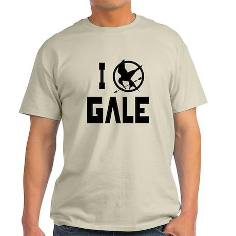 I Love Gale Hunger Games Light T-Shirt