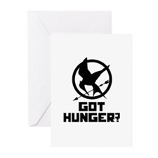 Got Hunger? The Hunger Games Greeting Cards (Pk of