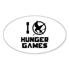 I Love Hunger Games Decal
