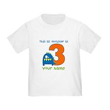 3rd Birthday Monster T