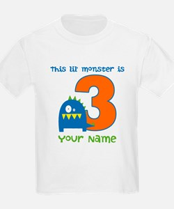 3rd Birthday Monster T-Shirt