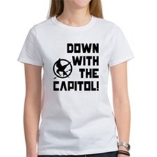 Down With The Capitol! The Hunger Games Tee