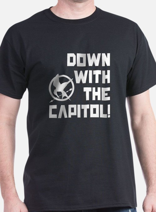 Down With The Capitol! The Hunger Games T-Shirt