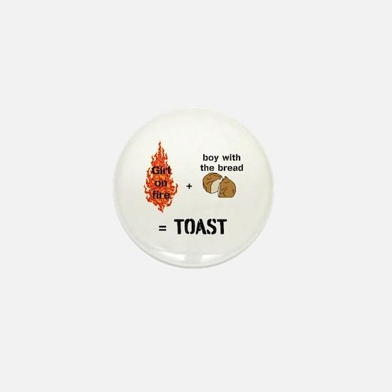 Katniss and Peeta Toast Mini Button