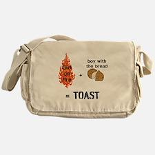 Katniss and Peeta Toast Messenger Bag