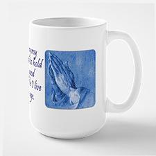 Golfer's Prayer Large Mug