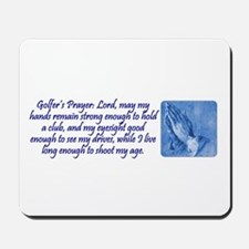 Golfer's Prayer Mousepad