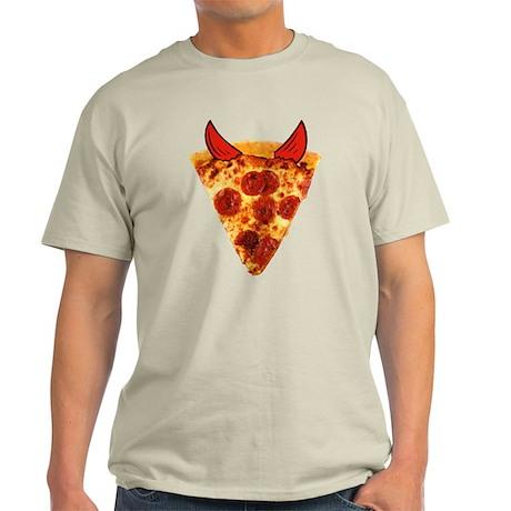 Devil Pizza Light T-Shirt