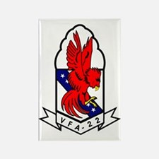 Attack Squadron 22 Rectangle Magnet