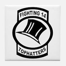 VFA 14 Tophatter Tile Coaster